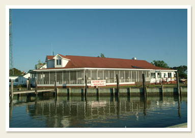 Enjoy great seafood at the restaurants of Smith Island